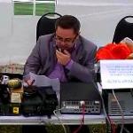 """Президент СРР Дмитрий Воронин (RA5DU) открывает Мемориал """"Победа"""""""
