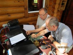Судейская коллегия ОЗЧР контролирует работу участников соревнований