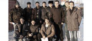 Совместная фотография с радиолюбителями города