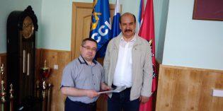 Встреча в РО ДОСААФ Москвы