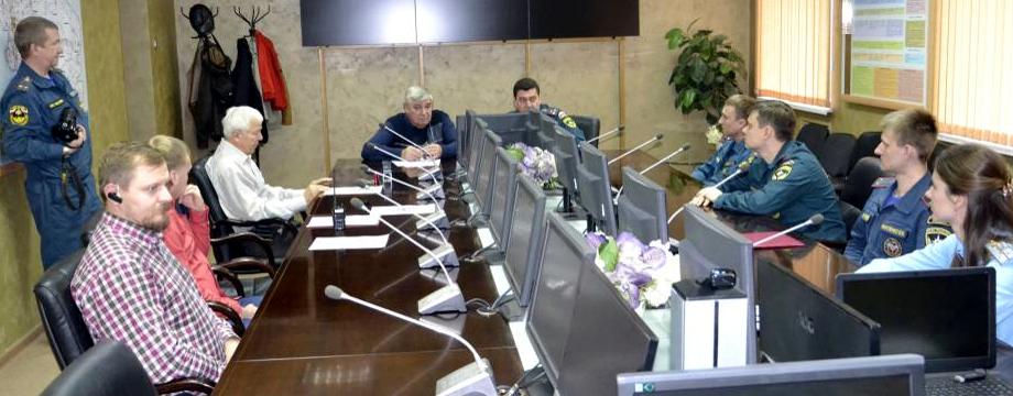 Ставрополь, ситуационный центр МЧС