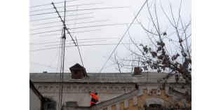 Тамбов: антенна установлена — проект модернизации RA5R реализован