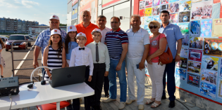 Азнакаево: RZ4PXO в Дне молодёжи России