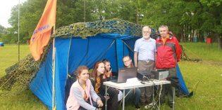 Чувашская Республика: команда РО СРР в детском лагере «Звёздный»
